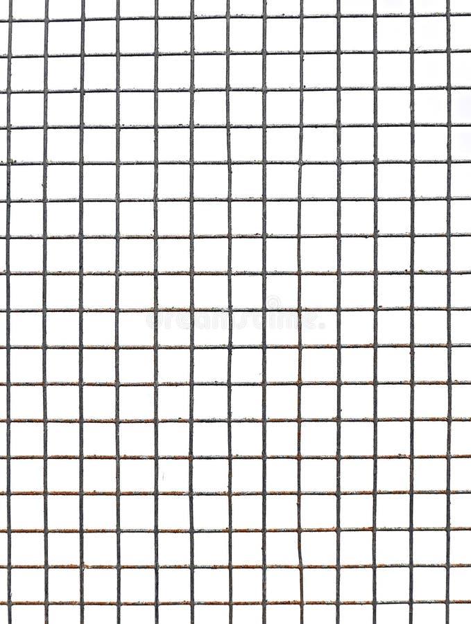 Download Текстура предпосылки изолированных клеток сетки металла Стоковое Фото - изображение насчитывающей утюг, структура: 40581382