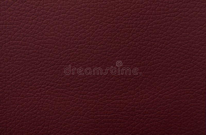 текстура предпосылки кожаная красная стоковое изображение
