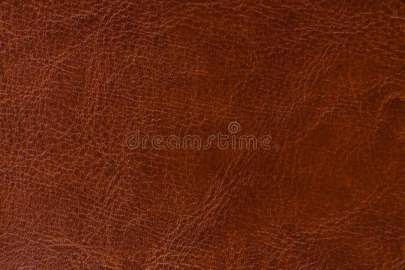 текстура предпосылки коричневая кожаная стоковое фото