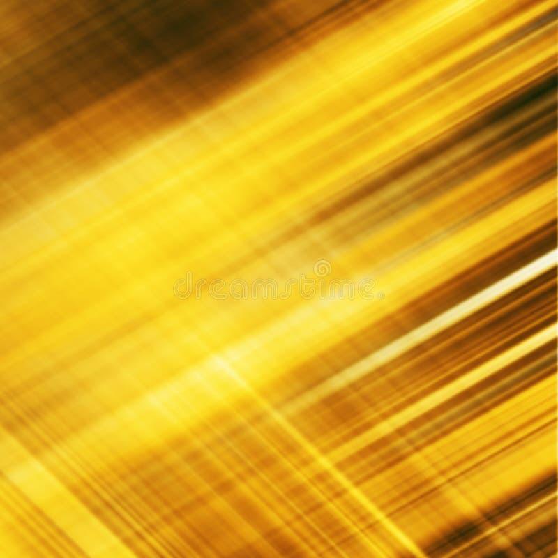 Текстура предпосылки металла золота с раскосными прокладками бесплатная иллюстрация