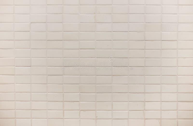 Текстура предпосылки стены плитки белого квадрата стоковая фотография