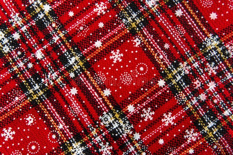 Текстура предпосылки чулка рождества стоковые изображения