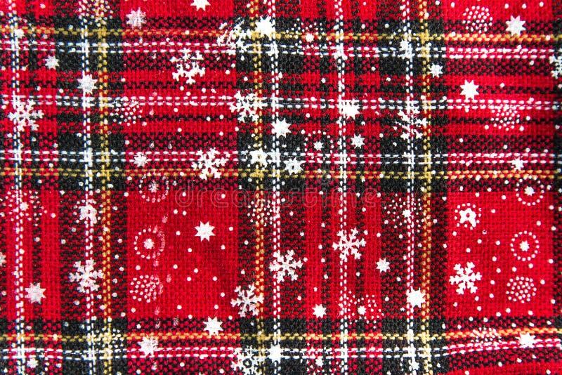 Текстура предпосылки чулка рождества стоковые фотографии rf