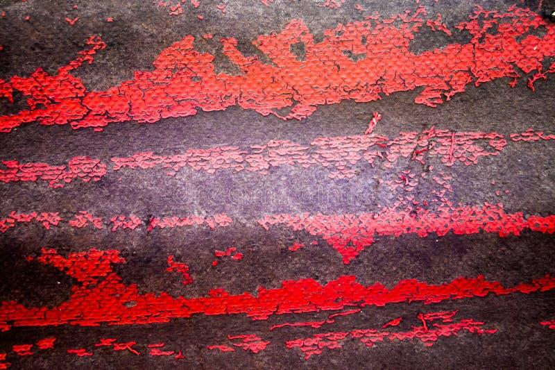 Текстура предпосылки шифера покрашена с красной краской стоковые фото
