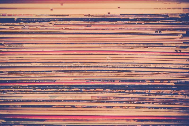 Текстура рекордного альбома винила стоковая фотография