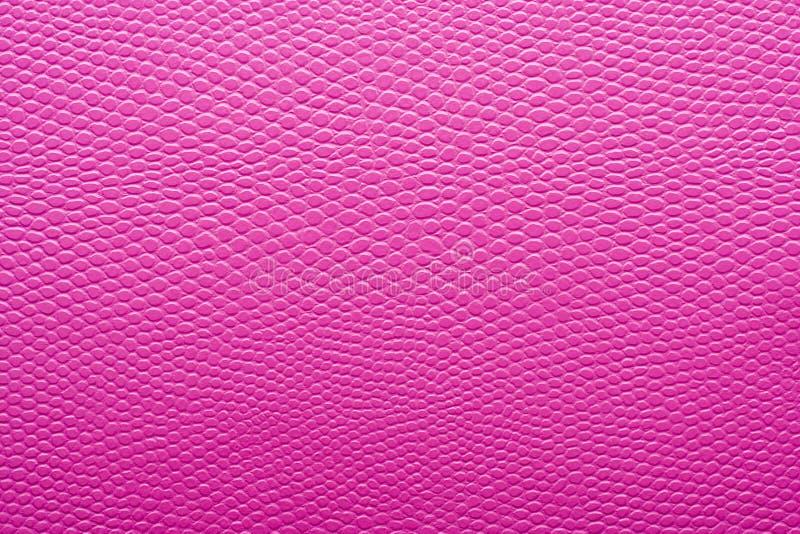 Текстура розовой имитационной кожи стоковое изображение rf