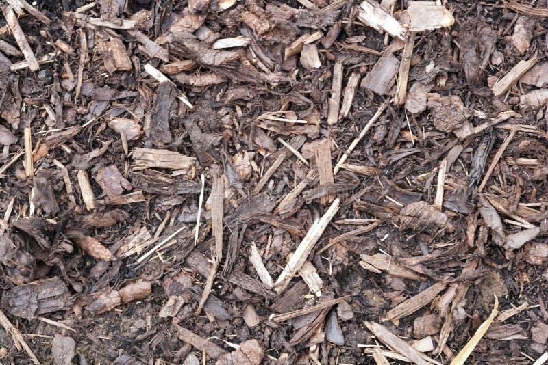 Текстура садов - благоустраивать chippings расшивы стоковые фотографии rf