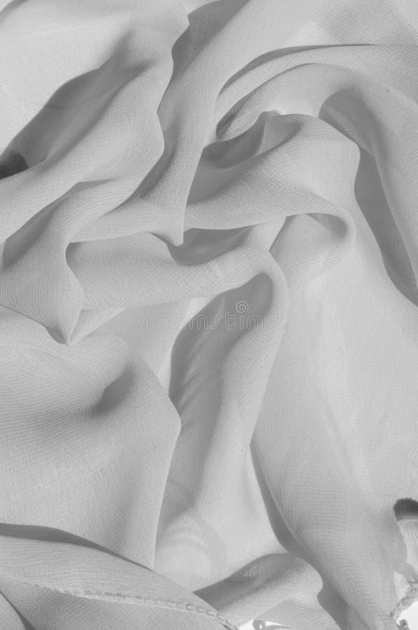 Текстура, серебряный Faille шелка голубя Shimmer и блеск как звезда стоковое изображение rf