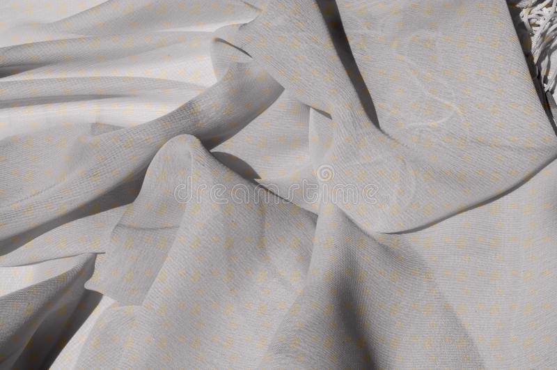 Текстура, серебряный Faille шелка голубя Shimmer и блеск как звезда стоковые изображения rf
