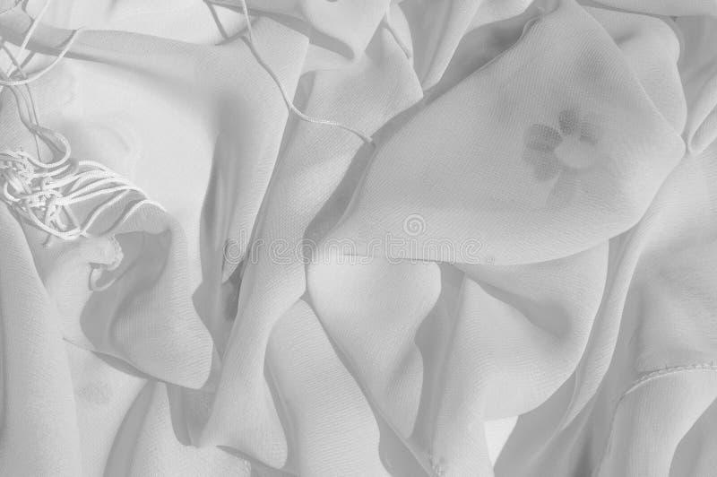 Текстура, серебряный Faille шелка голубя Shimmer и блеск как звезда стоковое изображение