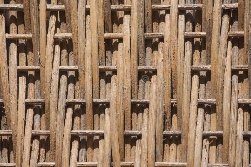 Текстура сплетенного деревянного стула стоковая фотография