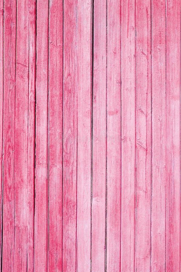 Текстура старого красного цвета краски на деревянных досках стоковые фотографии rf
