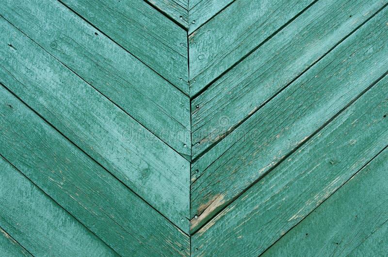 Текстура старой зеленой предпосылки деревянных доск стоковое изображение rf