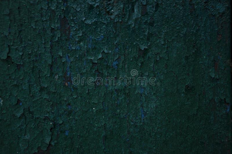 Текстура старой зеленой краски стоковая фотография rf