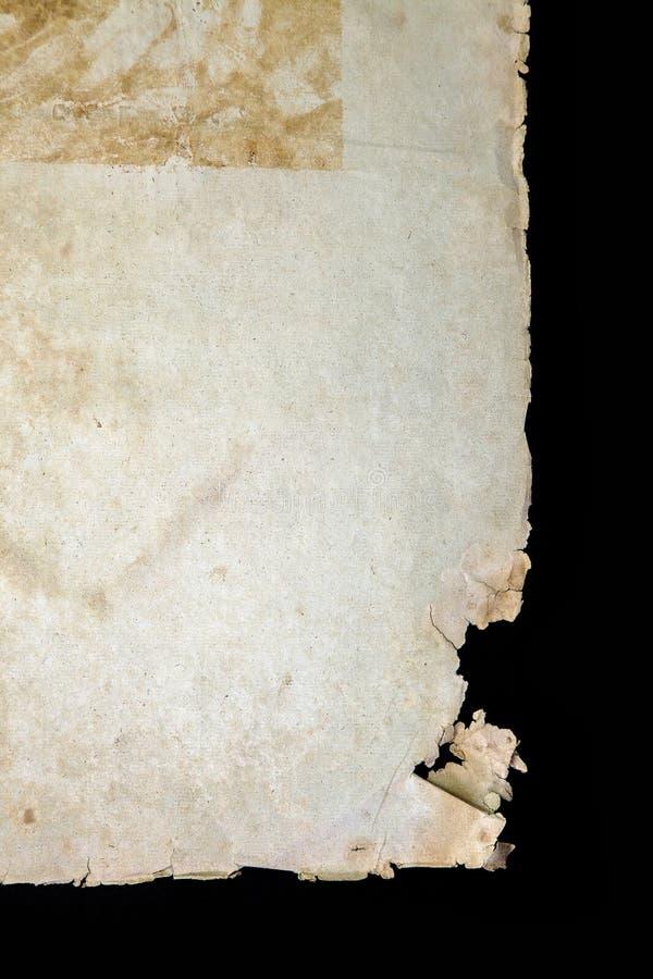 Текстура старой обложки книги винтажная изолировала письмо Yid черной рукописи предпосылки старой ветхой религиозной исторической стоковые фото