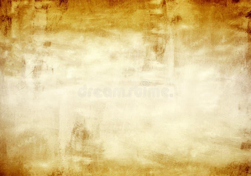 Текстура стены grunge металла золота стоковое изображение