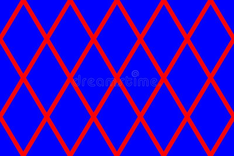 Текстура с большими красными rhombs стоковые фотографии rf