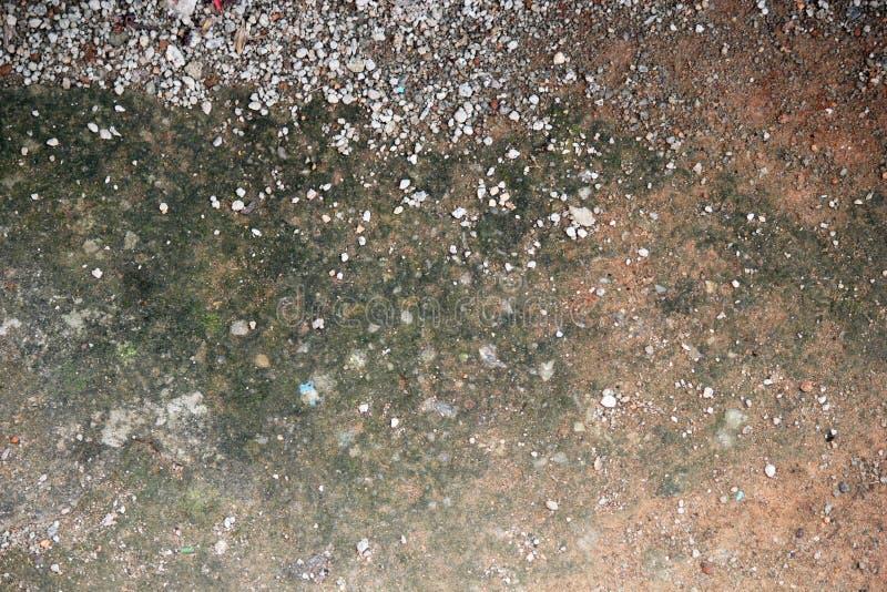 Текстура с камнями и обломоками стоковое фото