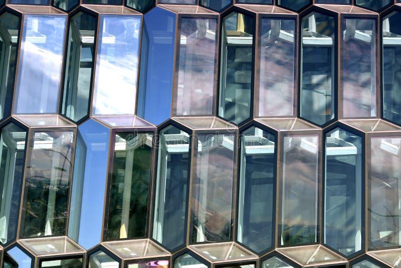 Текстура с стеклянными блоками стоковое изображение