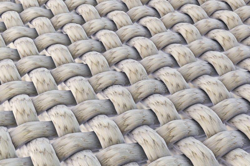 Текстура ткани, взгляд макроса бесплатная иллюстрация