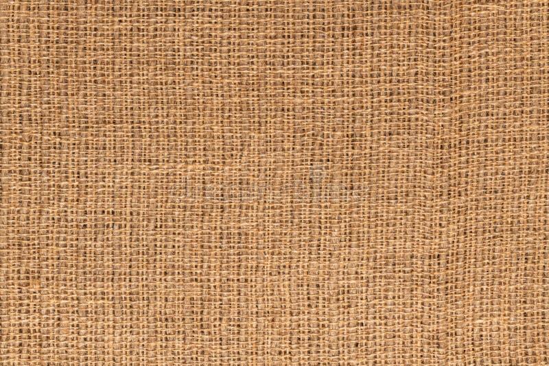 Текстура ткани джута стоковая фотография