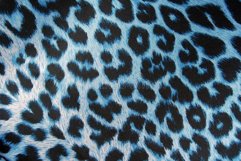 Текстура ткани печати леопарда стоковое фото rf