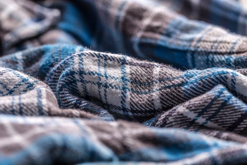 Текстура ткани рубашки стоковое фото rf
