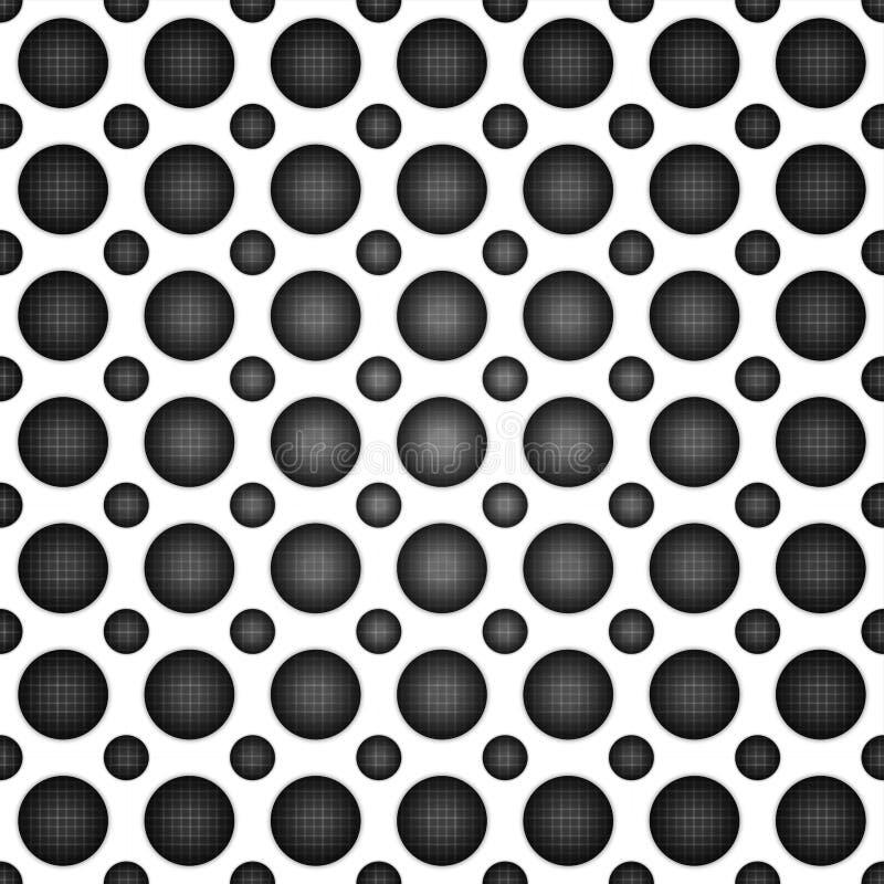 Текстура тома реалистическая, картина серой точки круга 3d геометрическая иллюстрация штока