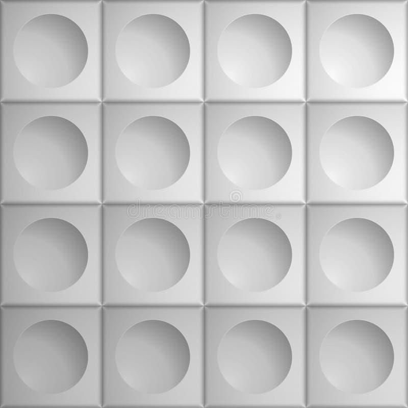 Текстура тома реалистическая, картина серых квадратов кубов 3d геометрическая иллюстрация штока