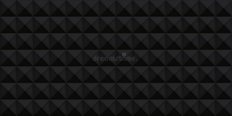 Текстура тома черная реалистическая, кубы, серая 3d геометрическая картина, предпосылка темноты вектора дизайна иллюстрация штока