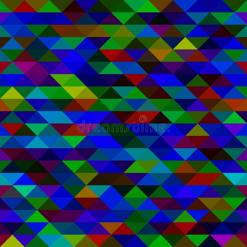 Текстура треугольников мозаики бесплатная иллюстрация