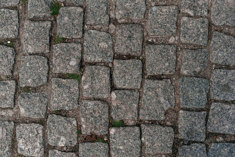 Текстура тротуара - фото вымощенный путь камня стоковые фотографии rf