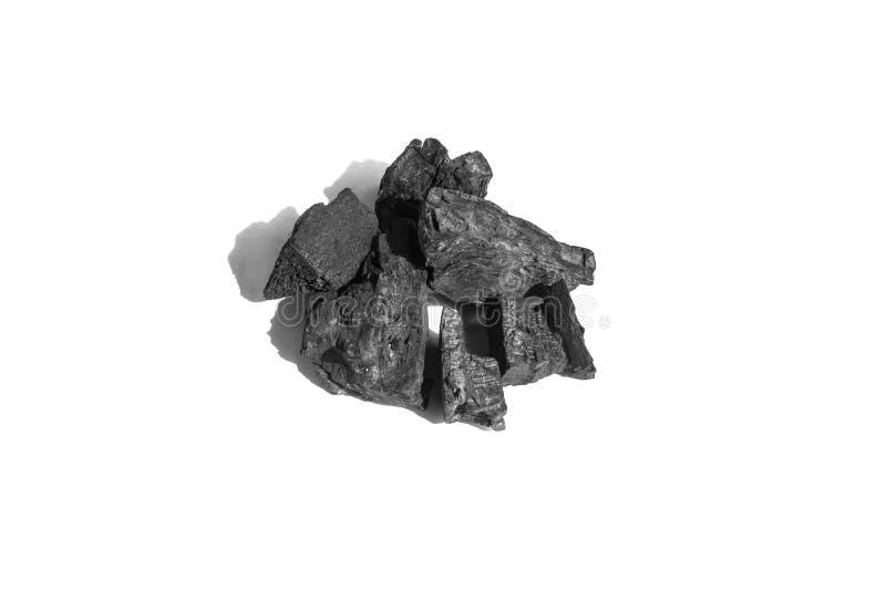 Текстура угля углерода на белой предпосылке стоковое изображение rf