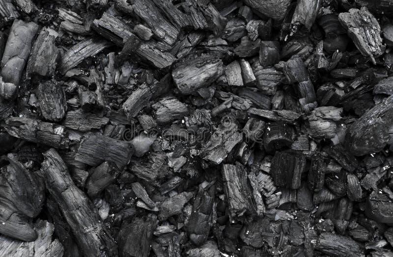 Текстура угля стоковые фото