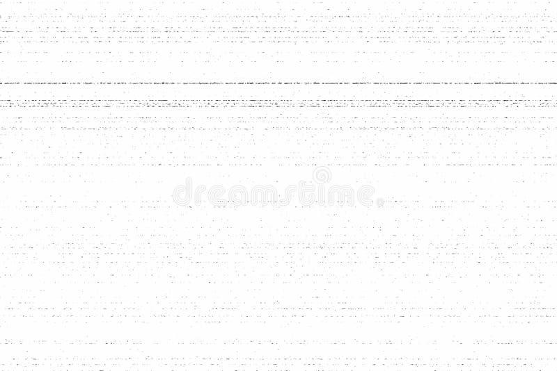 Текстура фотокопии Grunge пакостная Иллюстрация вектора, горизонтальные нашивки бесплатная иллюстрация