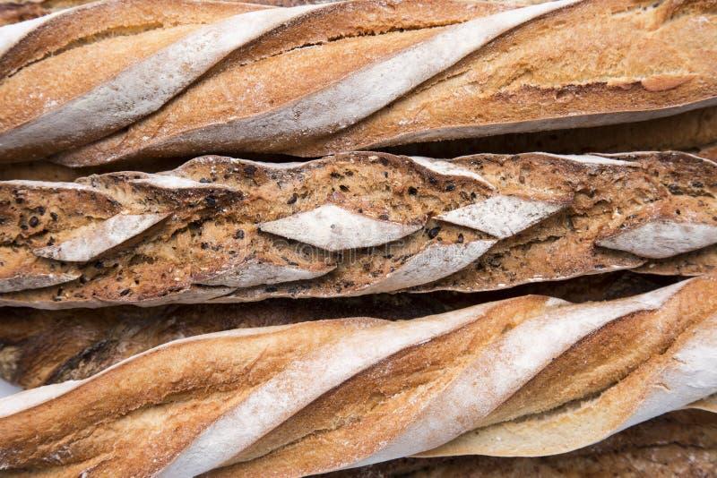 Текстура французского хлеба стоковые фотографии rf