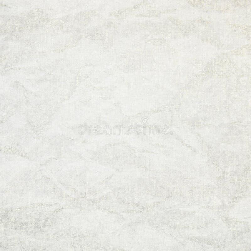 Текстура холста предпосылки белой бумаги стоковые изображения rf