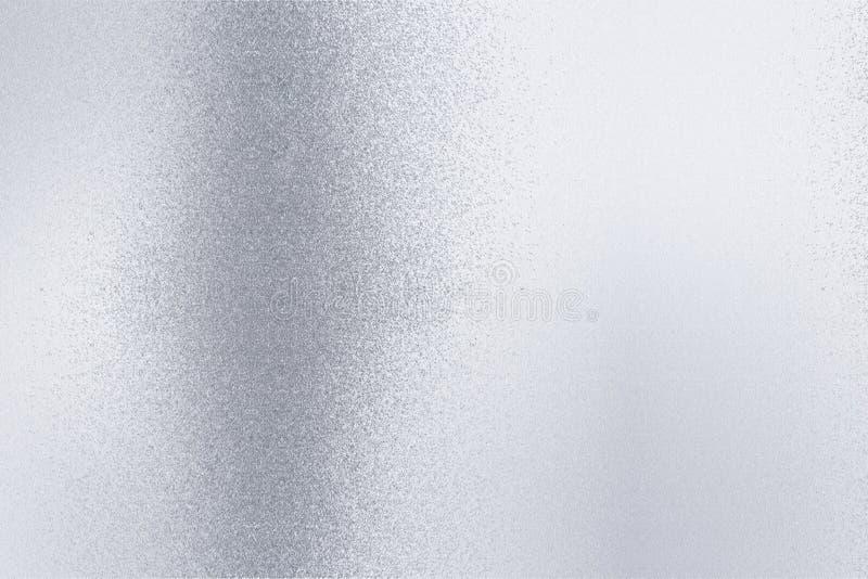 Текстура царапин на старом белом металлическом поле, абстрактной предпосылке стоковые изображения rf
