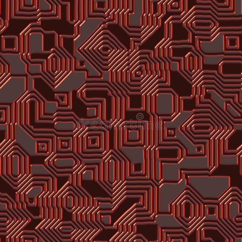 текстура цепи безшовная иллюстрация штока