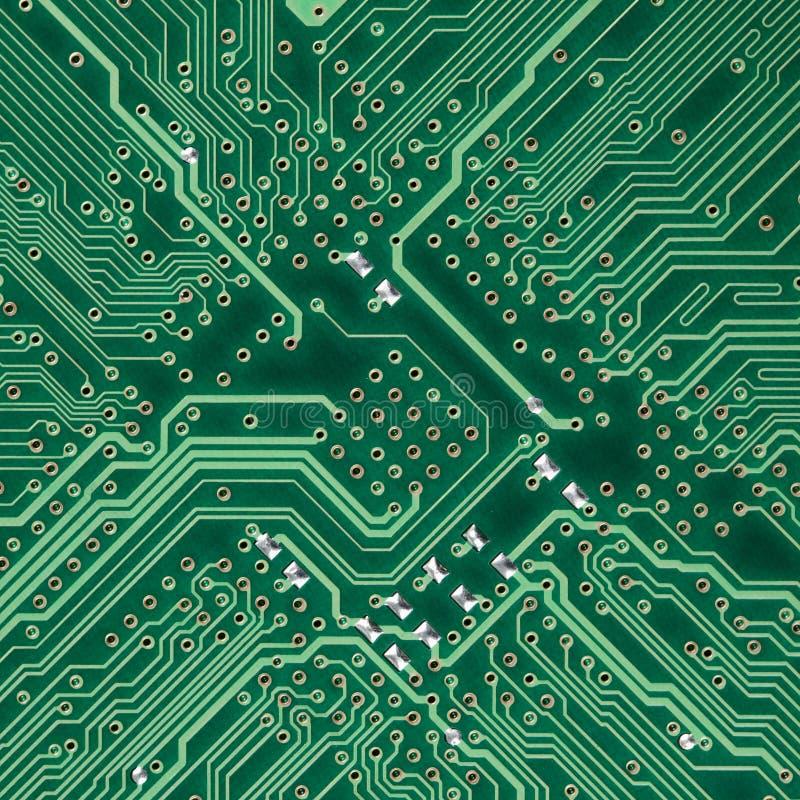 текстура цепи доски электронная квадратная стоковая фотография