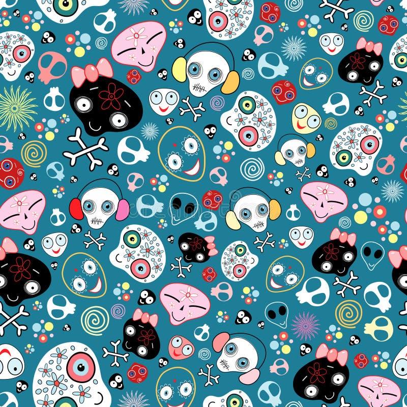 текстура черепов потехи бесплатная иллюстрация