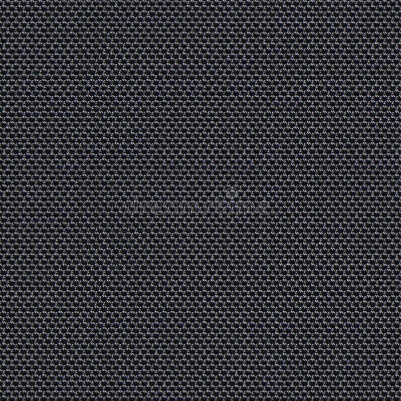 Текстура черной ткани безшовная Карта текстуры для 3d и 2d стоковое фото