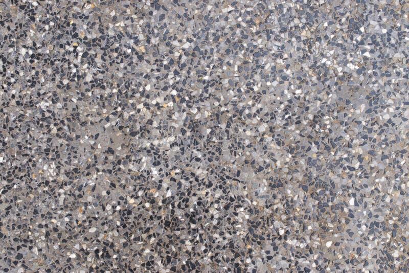 Текстура черноты, белизны и серого цвета пола сделанных из камня и цемента на чистой и простой для предпосылки стоковое фото rf