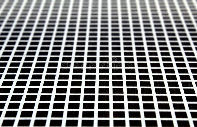 Текстура черных квадратов увиденная в перспективе стоковые изображения rf