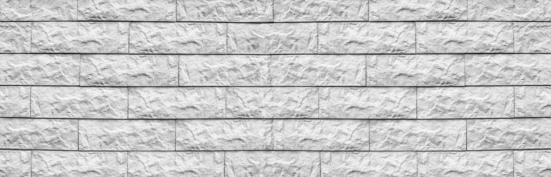 Текстура широкой плитки белого цемента широкая Побеленная предпосылка блока камня панорамная Грубая панорама кирпичной стены стоковое изображение
