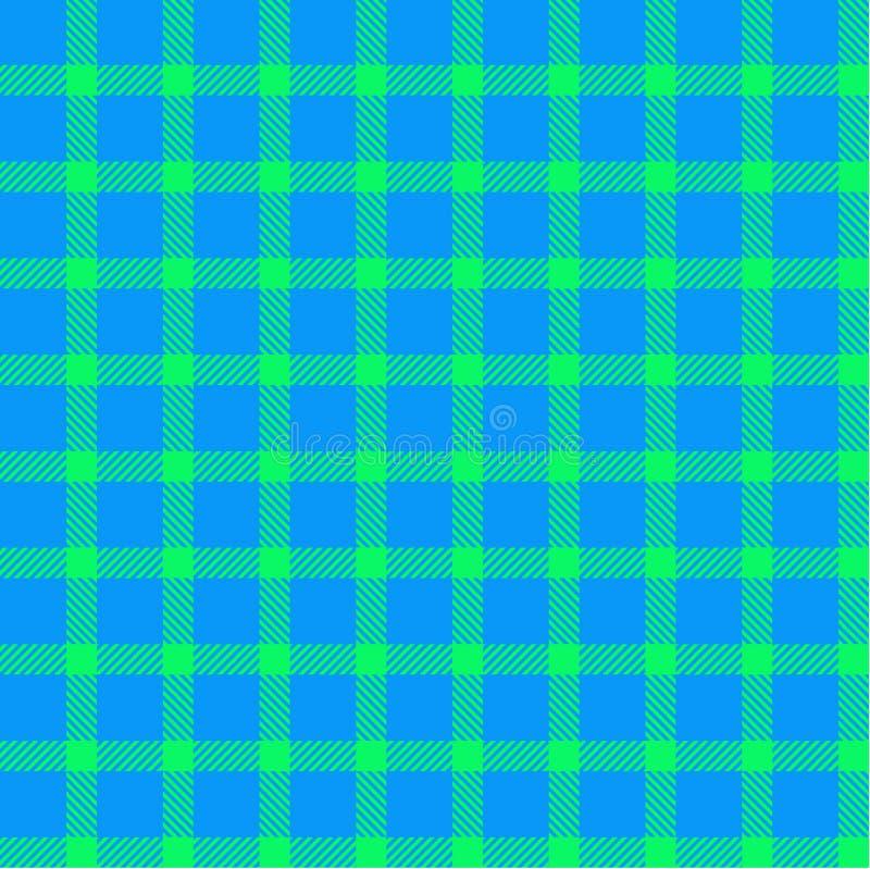 текстура шотландки картины безшовная иллюстрация вектора