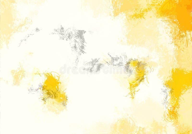 Текстура эскиза абстрактного искусства Красочные цифров нарисованные линии цветастая текстура современное художественное произвед стоковое фото
