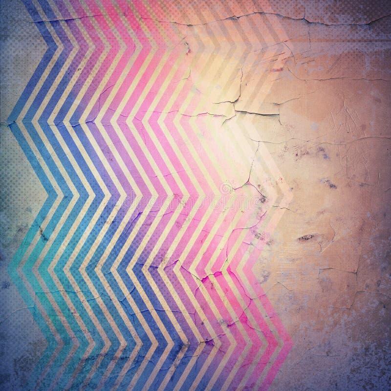 Текстура Grunge бумажная, предпосылка сбора винограда иллюстрация штока