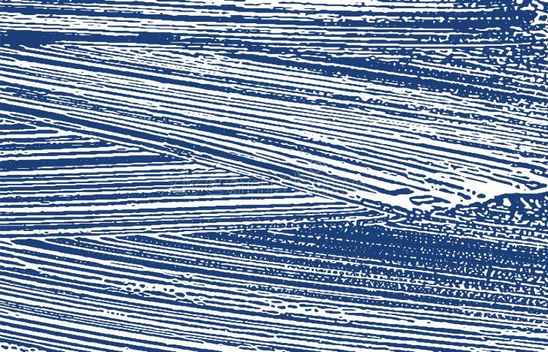Текстура Grunge Трассировка индиго дистресса грубая Исключительная предпосылка Текстура grunge шума пакостная ext бесплатная иллюстрация