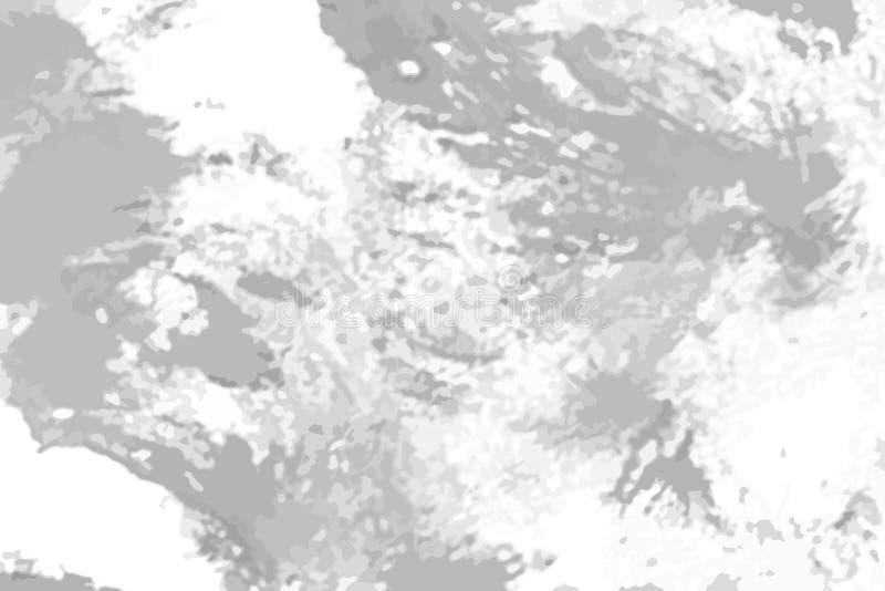 Текстура Grunge черно-белая для создает поцарапанный конспект, VI иллюстрация вектора